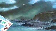 PART SEVEN OF STORMY COVE,,HOW TO PAINT THE SEA IN OILS by Alan Kingwell
