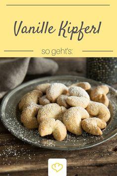 Wer liebt sie nicht? Ohne Vanille Kipferl - kein Weihnachten! Dieses Rezept ist ein Klassiker!