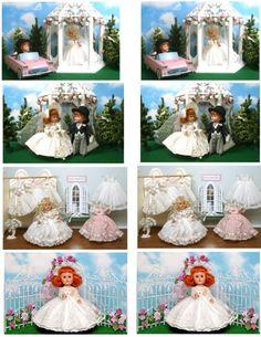 Vintage Ginny Doll 'Wedding'  Greeting Cards