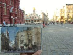 Paint on site in Moscow by Chien Chung Wei