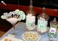 Bomboneras, copones, dulces y galletas son parte de nuestro paquete de Baby Shower,  creando momentos únicos #siempreideatika