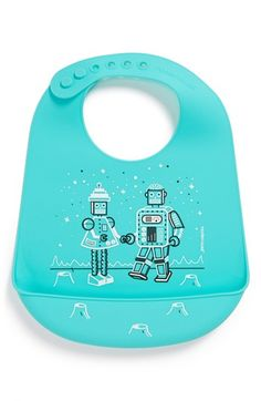 Awesome silicone robot bib