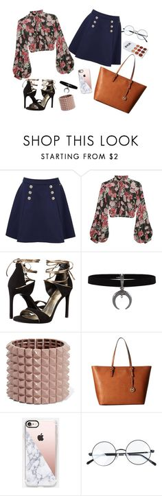"""""""I am back! Fashion is EVERYTHING"""" by hanamodel on Polyvore featuring Tommy Hilfiger, Jill Stuart, Stuart Weitzman, Valentino, MICHAEL Michael Kors and Casetify"""