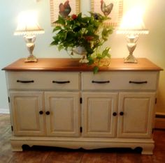 Updating a Favorite Old Buffet DIY