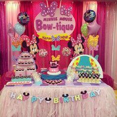 Minnie bowtique theme party!! Happy bday Olivia! | Yelp