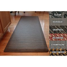 Chef's Design Ultra Comfort Mat- Collection - We'd like Graphite or Driftwood in X