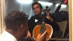 improv duet on airplane