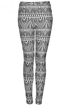 Wear some fun leggings with a basic top to mix it up. Pair with combat boots for a more edgy look.