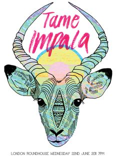 tame impala gig posters - Google Search