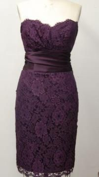 Mackenzie Michaels Bridesmaid Dress Style # 88264 Now available with ivory lace!