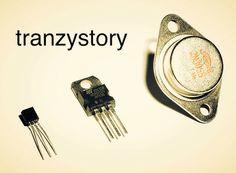 Tranzystory –  półprzewodnikowe elementy elektroniczne, posiadające zdolność wzmacniania sygnału elektrycznego.