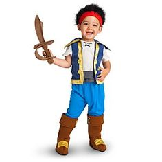 Jake and the Never Land Pirates - Jake Costume
