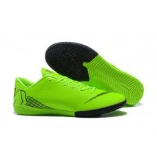 Encontre aqui Comprar Chuteira de Futsal Nike Mercurial Vapor XII IC Verdes  Preto com os melhores preços. Acesse o site da chuteira-society.com e  compre ... b61ff25131e58