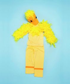 How To: Make a Yellow Duckling | Trick household items into turning into this year's most clever disguises.