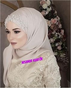 Aksesuar You can find different rumors about the annals of the marriage dress; tesettür First Narration; In ancient Rome, … Muslim Wedding Gown, Muslimah Wedding Dress, Hijab Style Dress, Hijab Wedding Dresses, Bridal Dresses, Girls Dresses, Bridesmaid Dresses, Dress Wedding, Bridal Hijab