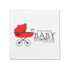 Baby Shower Paper Napkins | Baby Shower Disposable Napkins