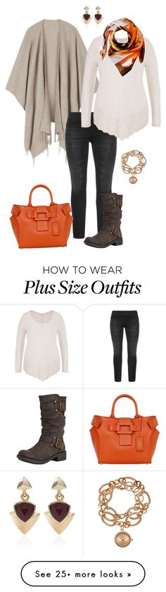 """""""Keeping Cozy- plus size"""" by gchamama on Polyvore featuring maurices, Rocket Dog, Roger Vivier, Vince Camuto, Louis Arden and White House Black Market"""