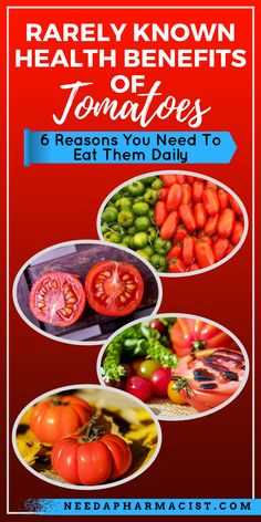 Did you know that a tomato is actually a fruit? Seriously. Its not a vegetable, its a fruit! You are probably thinking who cares? Its a tomato for goodness sake! But…the numerous health benefits of tomatoes means you really shouldn't underestimate this nutrient rich fruit! Read on to learn about the rarely known health benefits of tomatoes!