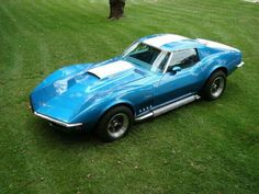 Corvette Stingray this is Granvilles car