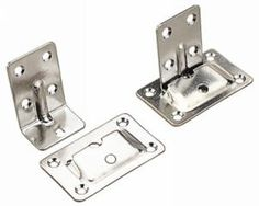 Sea-Dog Removable Table Brackets - Stainless Steel