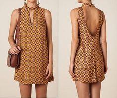 Выкройка короткого платья с открытой спиной (Шитье и крой) | Журнал Вдохновение Рукодельницы