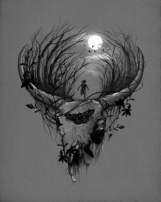 Nicebleed. Night Escape.    http://nicebleed.tumblr.com/