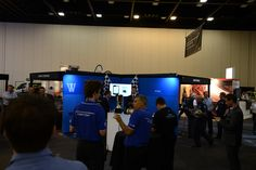 Whispir at APCO 2013 - getting ready for the big prize draw
