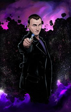 9th Doctor art