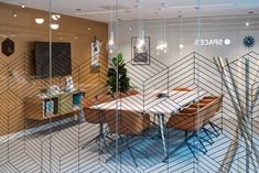 One of the meeting rooms. Office Interiors, Glasgow, Street, Table, Deer Park, Meeting Rooms, Spaces, Furniture, Design