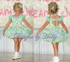 AnnaLauren would look pretty in this color - Pageant Glitz Dress