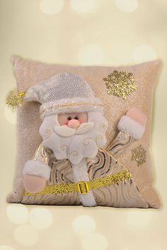 Santini Navidad | Forever Gold Christmas Cushion Covers, Christmas Cushions, Christmas Pillow, Pink Christmas, Christmas Snowman, Beautiful Christmas, Christmas Holidays, Christmas Decorations, Christmas Ornaments