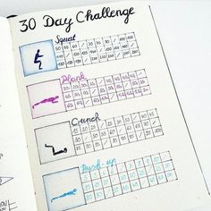 185 3 bullet journal studygram bujo memories the 30 day challenge! i saw this challenge a while ago and decided it would be a great exercise to journal prompts for self love and mental health Bullet Journal Tracker, Bullet Journal 30 Day Challenges, Bullet Journal 30 Days, Bullet Journal Workout, Bullet Journal Spreads, Fitness Journal, Bullet Journal Layout, Journal Pages, Bullet Journal Health