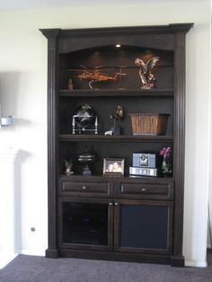 traditional living built in tv cabinet design ideas, pictures