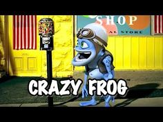 Crazy Frog Invented Techno Prove Me Wrong Frog Png Tree Frogs