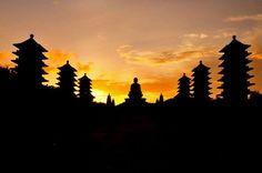 Fo Guang Shan Buddhist Monastery,  Kaohsiung #Taiwan  高雄  佛光山 佛陀紀念館