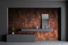 The Bathfashionist Cortenstahl jetzt auch im Bad Bathroom Lighting, Rust, Mirror, Interior, Inspiration, Furniture, Dreams, Design, Home Decor