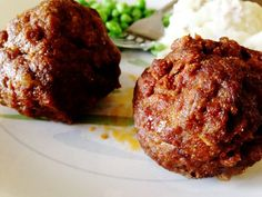 Yummy recipe for spicy meatballs Appetizer Recipes, Snack Recipes, Appetizers, Snacks, Spicy Meatballs, Tasty, Yummy Food, Meatball Recipes, Roast Beef