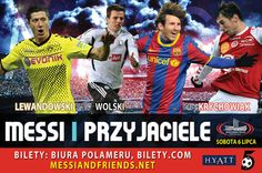 Messi and Friends 2013 without Polish football players | Link to Poland