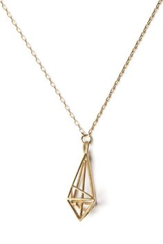 Katie Lees Jewellery pendant gold vermeil