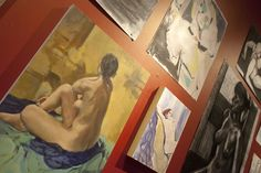 Toronto's local art scene on display at Jet Fuel, Cabbagetown. Authentic coffee shop with its own soul is a must on your to-go list http://torontoism.com/toronto-news/2016/02/jet-fuel-coffee