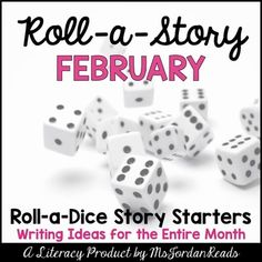 """This story starter packet will be sure to bring some writing fun into your classroom for the month of February! Three of the four """"Roll-a-Story"""" writing charts feature winter-related story elements to jump-start silly and fun stories! One is a regular theme (sea life) for everyday writing. ..."""