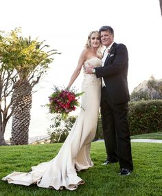 Taylor Armstrong wedding dress 2014