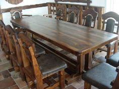 Деревянные столы под старину из сосны