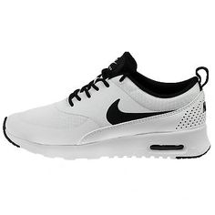 Nike Air Max Thea Womens 599409-102 White Black Running Training Shoes Size 7.5