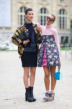 Your daily dose of street style. See all of the chic snaps straight from the streets of Paris here.
