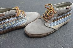 Vans Aztec Pattern Chukka Vans Size 10 Worn Twice Sold Out Everywhere | eBay