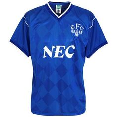 Everton 1987 League Champions Shirt - Blue From Kitbag
