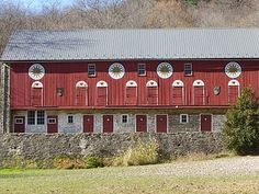 Barn with Hex Signs ~ Berks County, PA