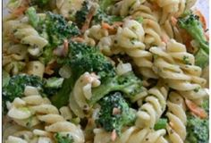 Brown Rice Pasta and Broccoli Medley | Trim Down Club