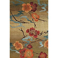 Nepalese Hand-knotted Kimono Gold Wool Rug (2'6 x 8')